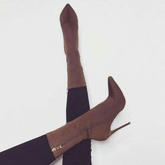 Shop at Stylizio for womens and mens designer handbags luxury sunglasses watches jewelry purses wallets clothes underwear more! Heeled Boots, Bootie Boots, Shoe Boots, Shoes Heels, Cute Shoes, Me Too Shoes, Simmi Shoes, Street Style Shoes, Sneaker Heels