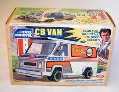 Evel Knievel CB Van