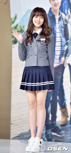 Cute Korean, Korean Girl, Asian Girl, Catholic School Girl, Kim Sohyun, School Uniform Girls, Korean Actresses, Korean Outfits, Korean Fashion