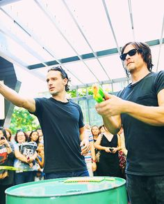 Andrew & Norman in Singapore