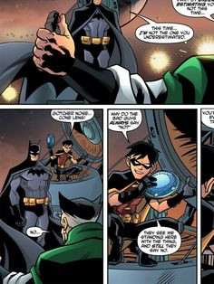 Robin, trolling comes so naturally to you, doesn't it? (Young Justice v.2 #11)