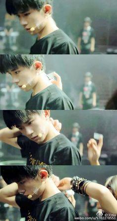 Yiyangqianxi #Jackson #jacksonyi #易烊千玺 #อี้หยางเซียนซี #เซียนซี #tfboys #anniversary3rd