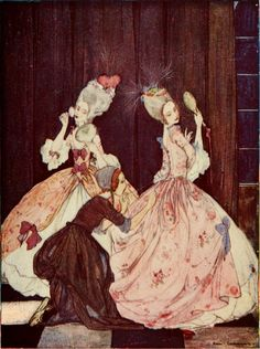 Cinderella -- Rie Cramer -- Fairytale Illustration