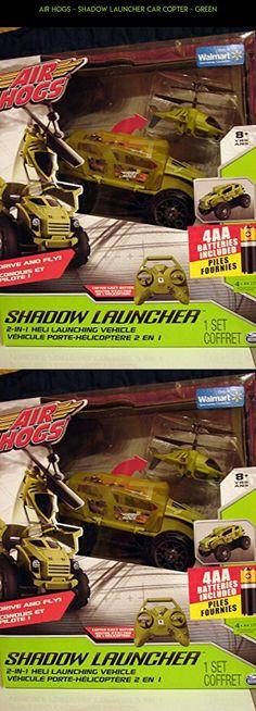 Air Hogs - Shadow Launcher Car Copter - Green #kit #camera #technology #racing #plans #gadgets #fpv #tech #air #hogs #launcher #products #drone #parts #shadow #shopping