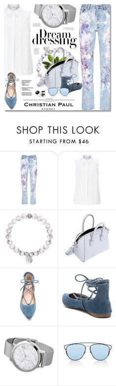 """""""Christian Paul - Watches & Bracelet"""" by defivirda ❤ liked on Polyvore featuring Rialto Jean Project, John Lewis, Givenchy, Steve Madden, Christian Dior and Bobbi Brown Cosmetics"""