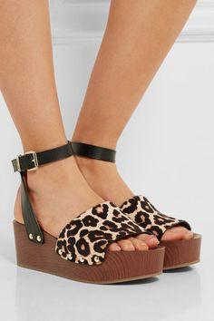 1f044e8c5a7 Brynn Wedge Sandals by Sam Edelman Leather Wedge Sandals