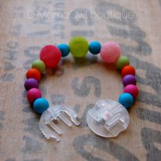 Awesome!!!  Diabetes Awareness Medtronic Infusion Set Multicolor bead bracelet  ''Happy Pumping Fashion''