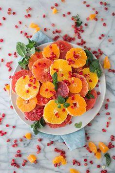 Citrus & Pomegranate Salad