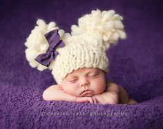 Knitting Pattern Newborn Double Fluff Baby by HeartstringsbyDee