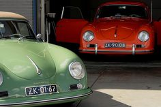 Double Trouble:  Porsche 356 by Berend Bosch on 500px