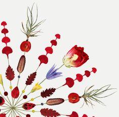 Blomkort 1 / Flower Card 1 - Lottas Träd/ Lottas Trees