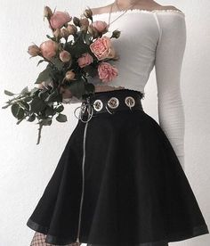 - # Koreanisch Teen Clothing - Baby Clothing - Woman Clothing - Summer Clothing - Source Clothing hi Hipster Outfits, Edgy Outfits, Mode Outfits, Grunge Outfits, Fashion Outfits, Fashion Skirts, Goth Girl Outfits, Gothic Outfits, Hipster Clothing