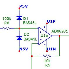 #OperationalAmplifier input protection is a DC-coupled high-gain electronic voltage amplifier with a differential input and, usually, a single-ended output.