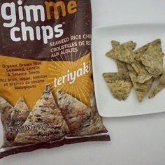 Gluten Free Discoveries, Searching for the best GF snacks - Part 4 Seaweed Chips, Gluten Free Chips, Dont Forget Me, Sesame, Free Products, Brown Rice, Sea Salt, Seeds, Organic
