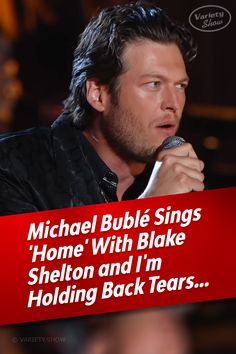 After witnessing two of the greatest singers of this age pay tribute to one of the greatest songwriters ever to have lived, you'll have an inspiring memory that'll last a lifetime. Dance Music Videos, Country Music Videos, Country Music Singers, Music Songs, Michael Buble Songs, Blake Sheldon, Dance Sing, Old Music, Chant