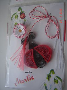 artmonica-handmade: MARTISOARE QUILLING Quilling Butterfly, Origami, Decoration, Handmade, Papercraft, Diy, Paper Envelopes, Decor, Hand Made