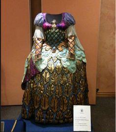 "Dall'opera ""zite'n Galera costume designer Odette Necoletti"