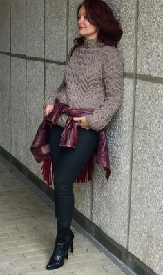 Handknitted Sweater via Hand knit sweaters. Click on the image to see more!