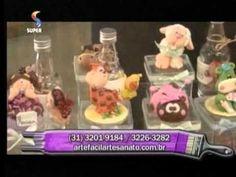 Bonecas em EVA - Crys Silva - Hora de Arte - Arte Fácil
