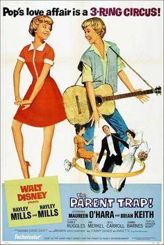 'The Parent Trap' - 1961 film poster