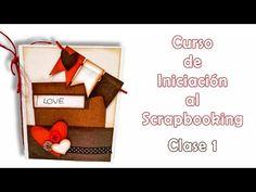Curso de Iniciación al Scrapbooking - clase 1 - YouTube Album Scrapbook, Scrapbook Sketches, Travel Scrapbook, Tutorial Scrapbook, Scrapbooks, Holiday Decor, Cards, Blog, Diy
