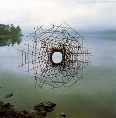 andy goldsworthy work ...awesome land art