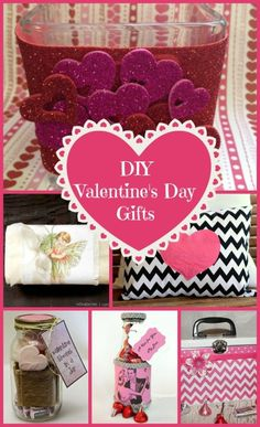 Give handmade Valentine's Day gifts from the heart with these sweet and easy tutorials from some of the best bloggers! I can't decide which Valentine's Day craft is my favorite!