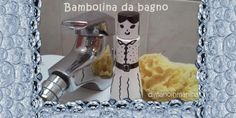 bambolina fai da te da flacone bagnoschiuma - recycled bath doll DIY