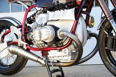 BMW R100S '76 Cafe Racer by 46Works #motorcycles #caferacer #motos | caferacerpasion.com