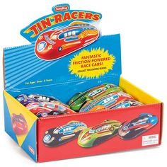 BuyTin Friction Cars, Assorted Online at johnlewis.com