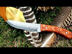 Well, Here is another documentary on how F-knives made one of his signature handles. These knife scales are Leopard Wood, also known as Lacewood. Bushcraft Essentials, Leopard Wood, Damascus Knife, Knife Handles, Custom Knives, Knife Making, Watch, Axe, Store