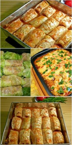 New Recipes, Cooking Recipes, Healthy Recipes, International Recipes, Tart, Cabbage, Food And Drink, Low Carb, Keto