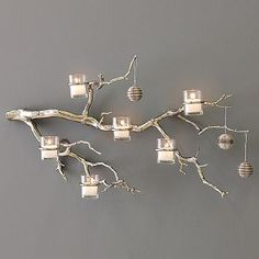 gorgeous branch candle holder