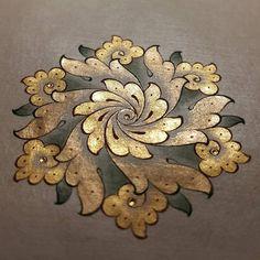 Bahar çiçeği/a kind of spring flowers #art #tezhip #finearts #güzelsanatlar #artgallery #islamicarts #classicarts #illumination #colors #painting #drawing #design #istanbul #türkiye
