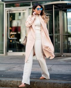 mercury sunglasses with all nude outfit