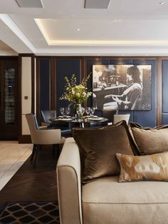 Living Room London Pied A Terre Linley Interiors Interior