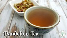 Make a delicious, liver supporting dandelion tea from all the weeds in your yard! Try this dandelion tea today, and find a recipe for dandelion coffee! The Homesteading Hippy Drinks Alcohol Recipes, Tea Recipes, Yummy Drinks, Dandelion Root Tea, Kitchen Herbs, Brewing Tea, How To Make Tea, Medicinal Herbs
