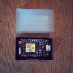 Looking forward to starting my first project with this little guy! #iot #internetofthings #particle #photon #particleboard #dev #development by stevenlitton