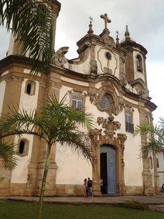 Igreja histórica de Ouro Preto.