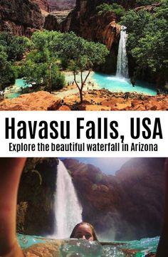 My favorite hike....Havasu Falls – Arizona, USA