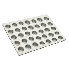 35 Cup Muffin Pan 3.8 oz. by Focus. $45.99. Aluminized steel construction. 35 Cup Muffin Pan 3.8 oz.