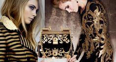 Tendência fashion: Preto & Dourado