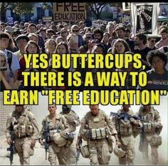 We had to pay our way, what makes these kids think they are entitled to a free anything? GROW UP AND WORK FOR WHAT YOU WANT!!!