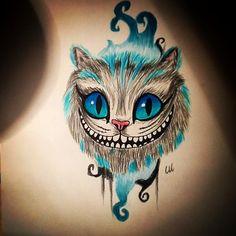 Cheshire cat tattoo Mais
