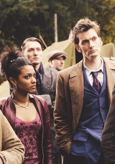 Challenge day 3: Least favorite companion is Martha Jones. Don't get me wrong I find her amazing but we all have a least favorite. She was just to in love with the Doctor when he was trying to mend his hearts after Rose. And in the end she leaves because he doesn't see her in a romantic way..