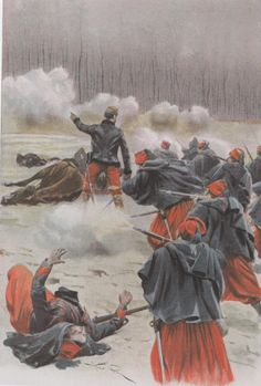 Zouaves at Villiers Franco-Prussian War
