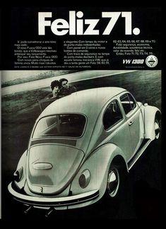 Anúncio Volks 1300 - 1970 Meu primeiro foi assim... #BetaLab #TimBeta #QueroSerBeta