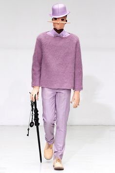 Walter Van Beirendonck Fall 2012 Menswear