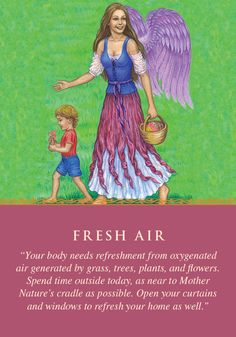 Oracle Card Fresh Air | Doreen Virtue | official Angel Therapy Web site
