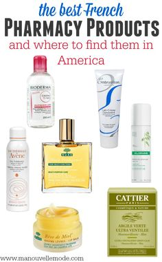 The French pharmacy is like candy land for beauty lovers! Not traveling to France any time soon? No worries, I've shared my favorites and where to find them in the States!